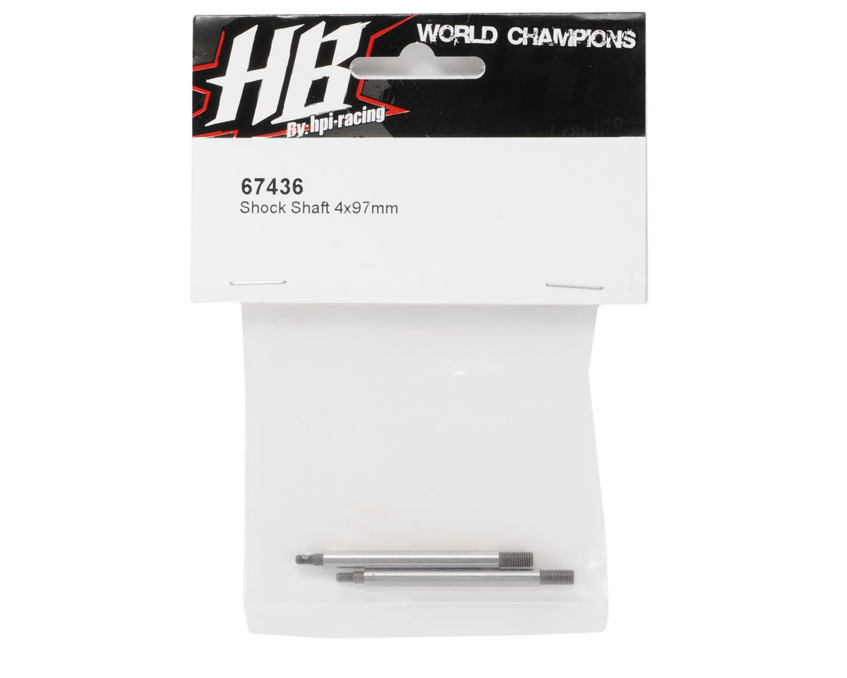 HB Racing 4x97mm Shock Shaft