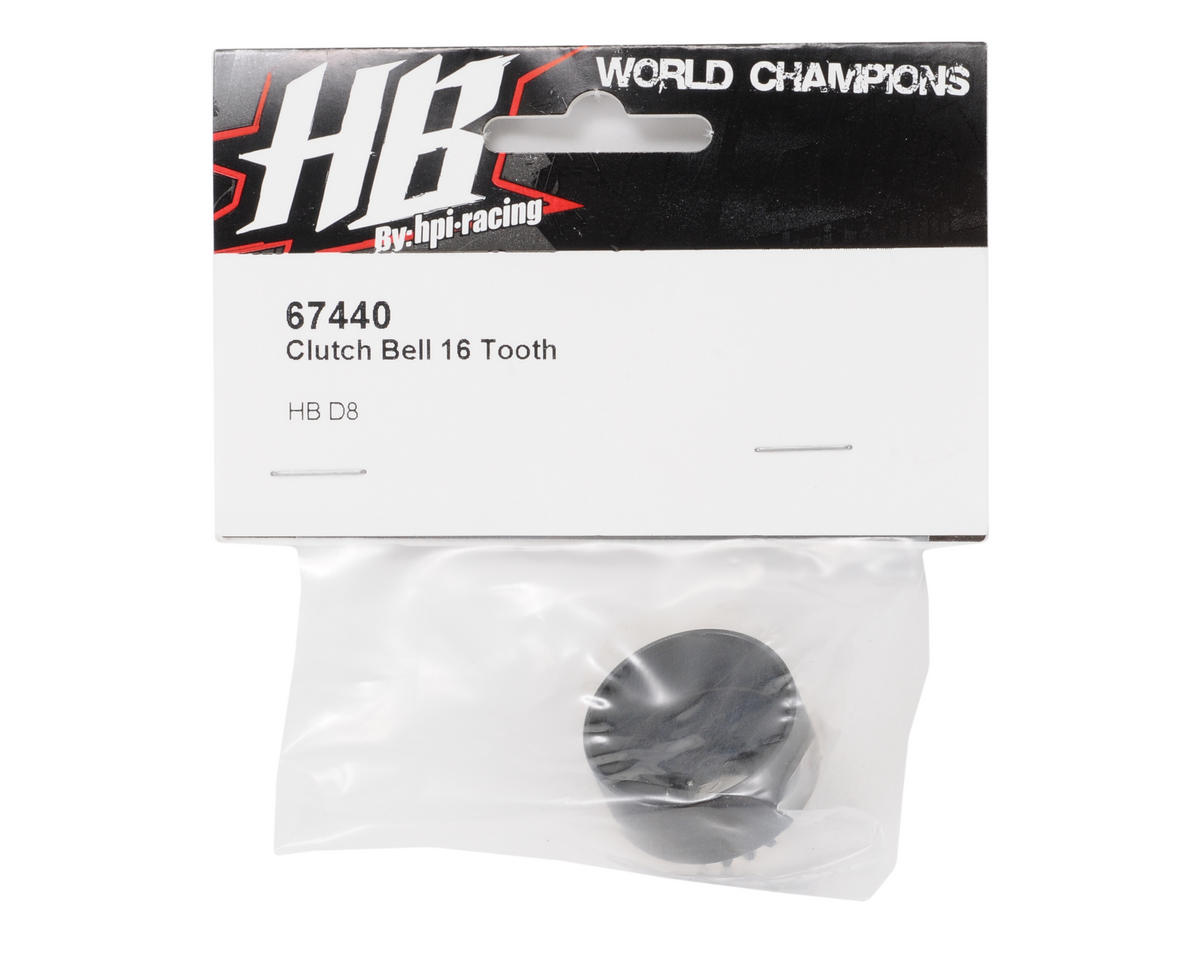 16T Clutch Bell by HB Racing