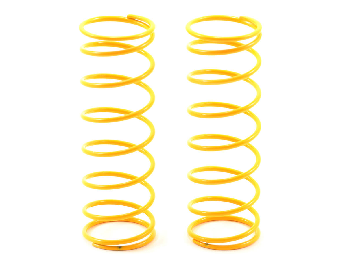 HB Racing 68mm Big Bore Shock Spring (Yellow - 68Gf) (2)