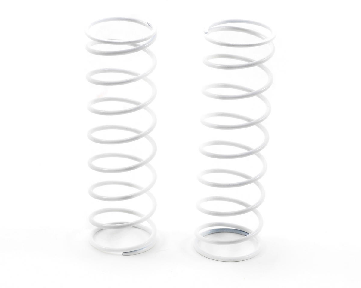 HB Racing 76mm Big Bore Shock Spring (White - 59Gf) (2)