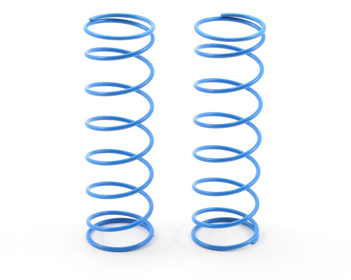 76mm Big Bore Shock Spring (Blue - 63Gf) (2) by HB Racing