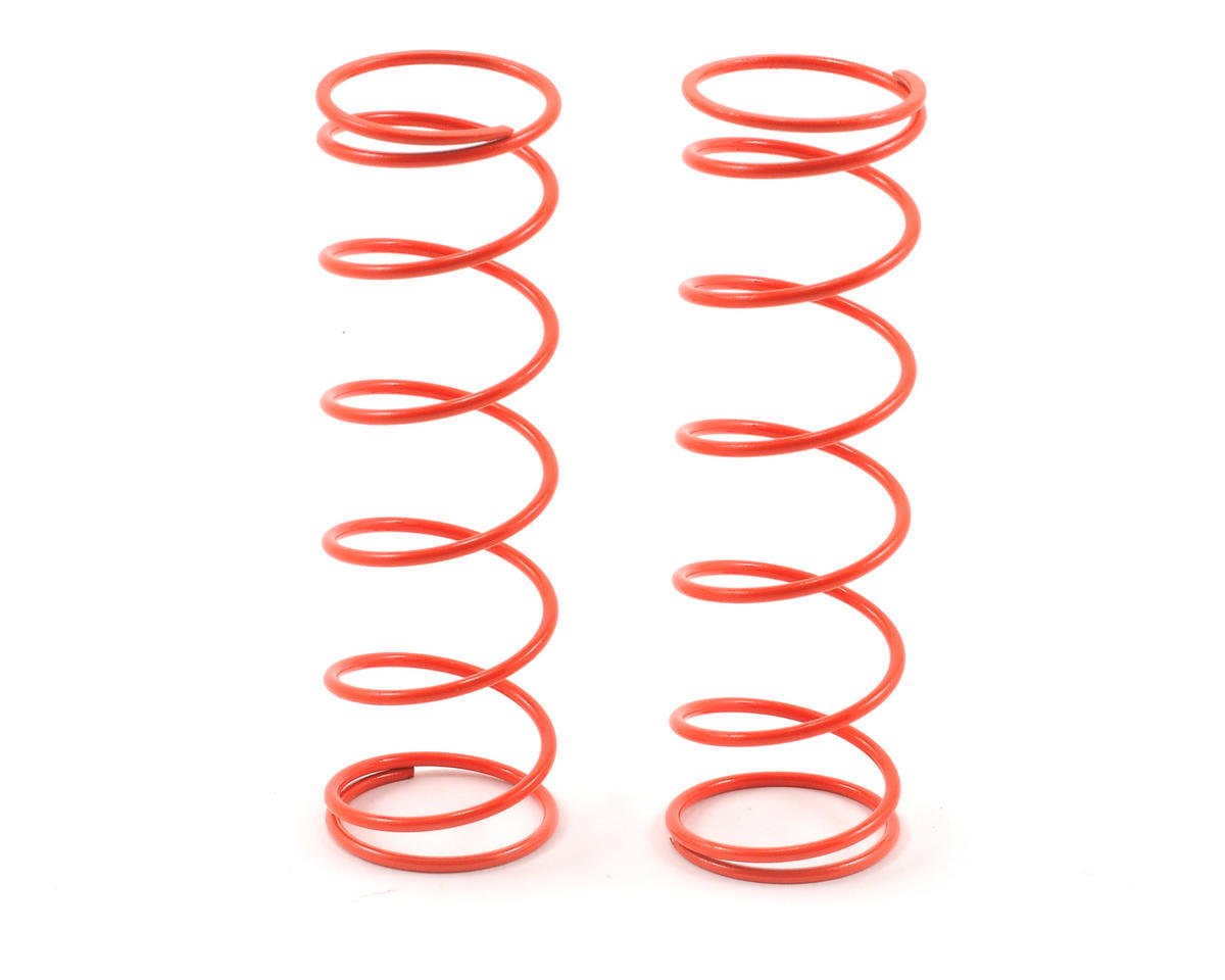 HB Racing 76mm Big Bore Shock Spring (Orange - 74Gf) (2)
