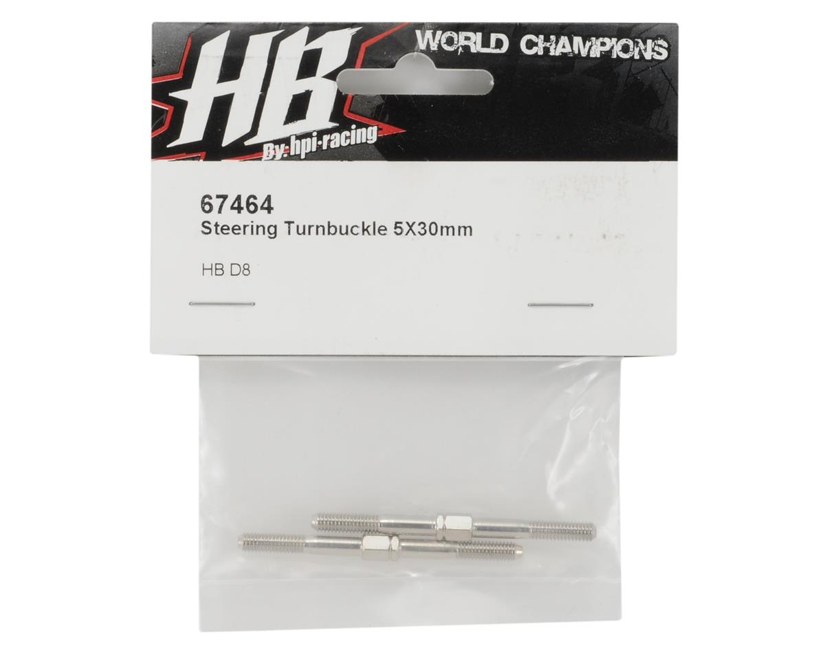 HB Racing 4x55mm Steering Turnbuckle (2)
