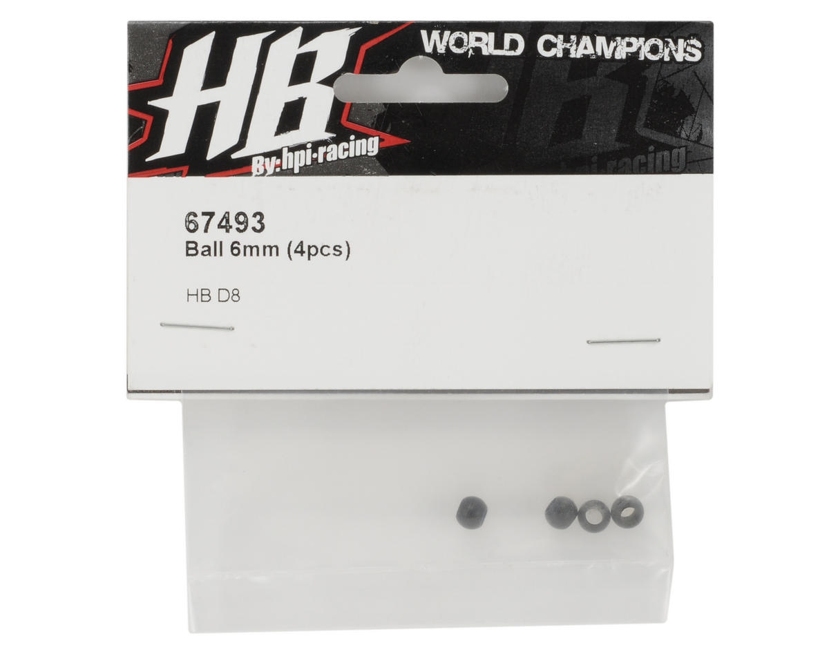 HB Racing 6mm Ball (4)