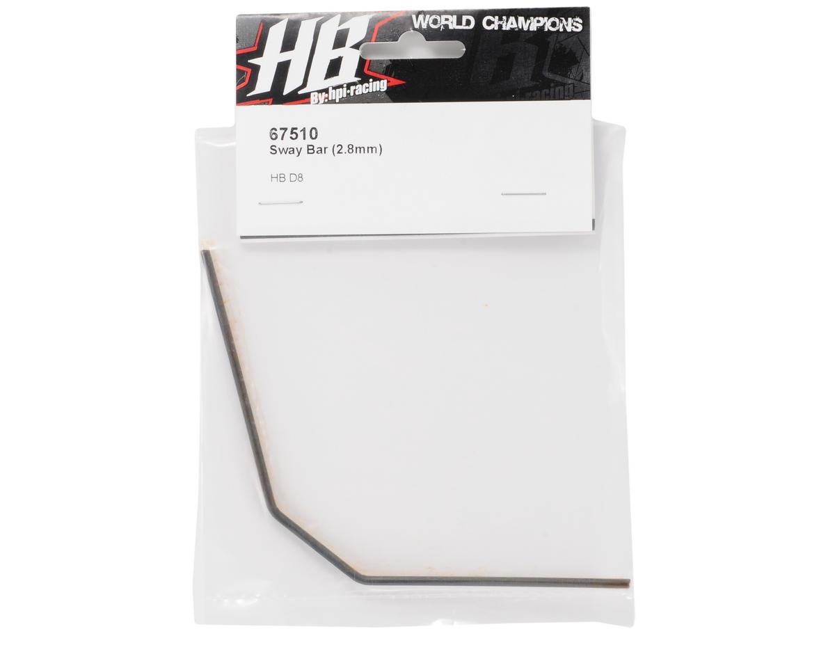 HB Racing 2.8mm Sway Bar