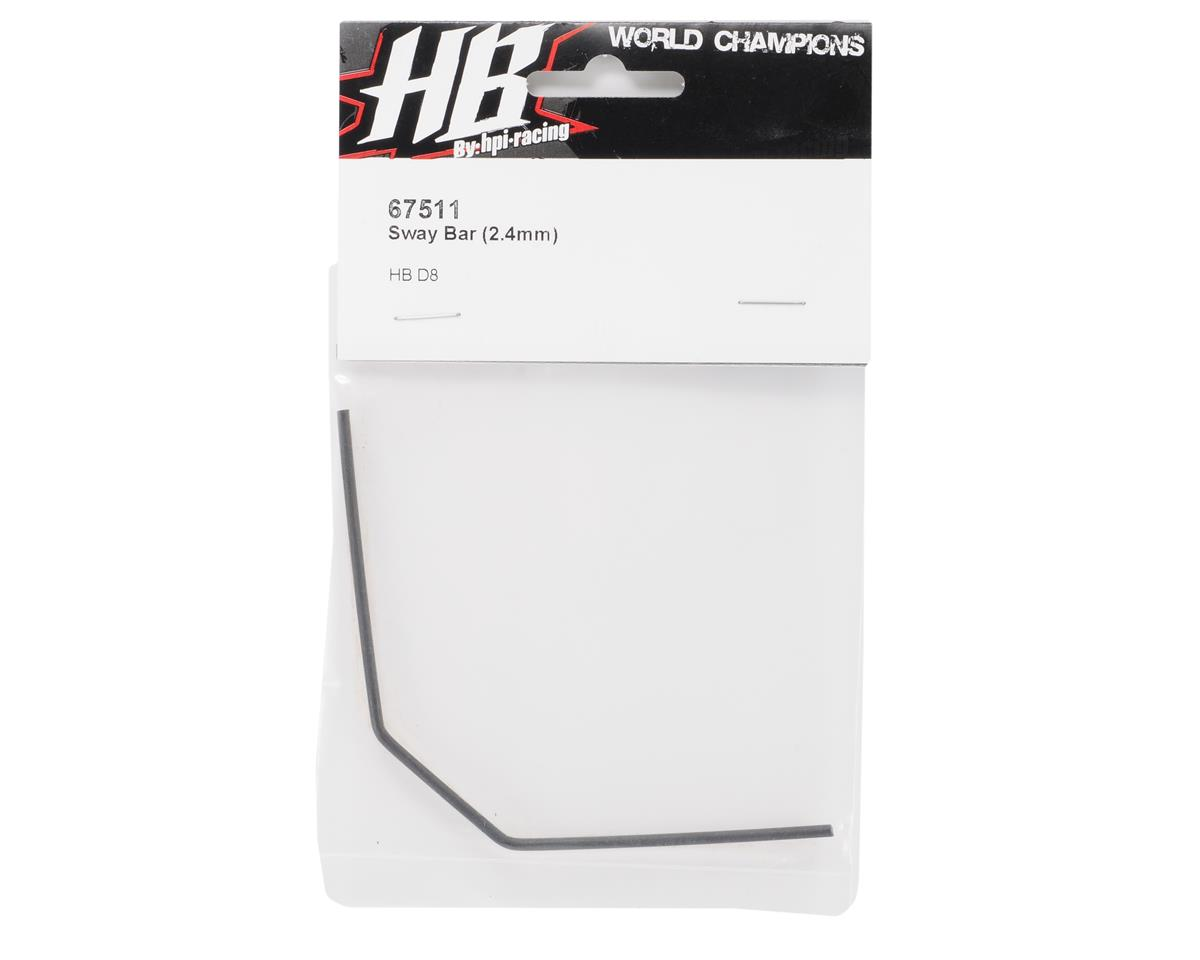 HB Racing 2.4mm Sway Bar