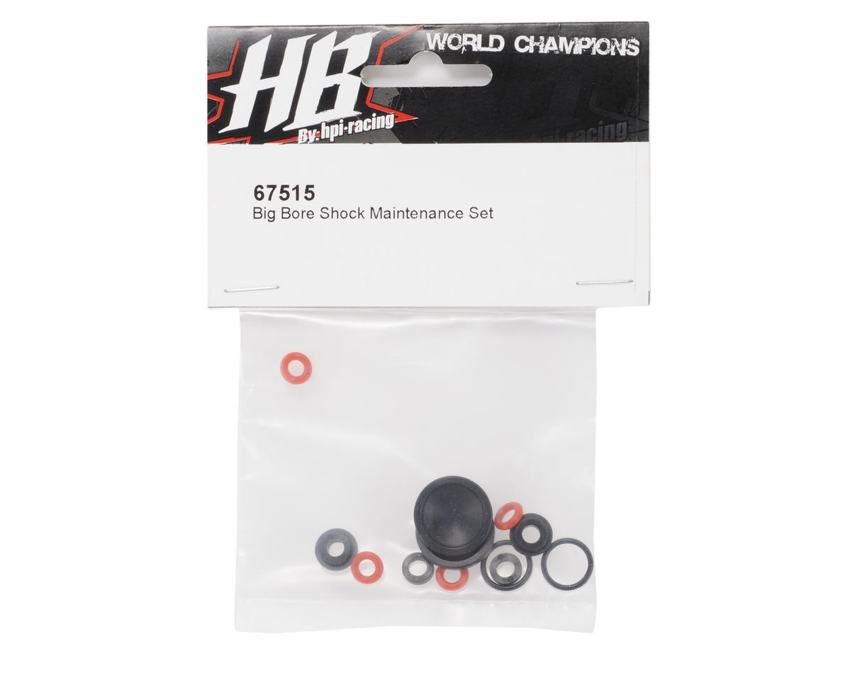 HB Racing Big Bore Shock Maintenance Set