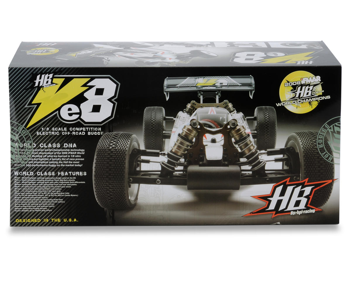 HB Racing Ve8 1/8 Off Road Competition Electric Buggy Kit