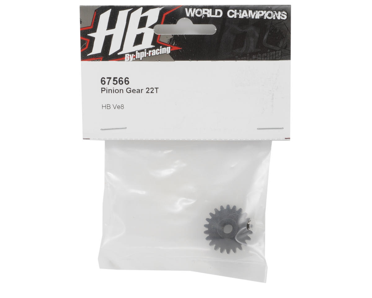 HB Racing Pinion Gear (22T)