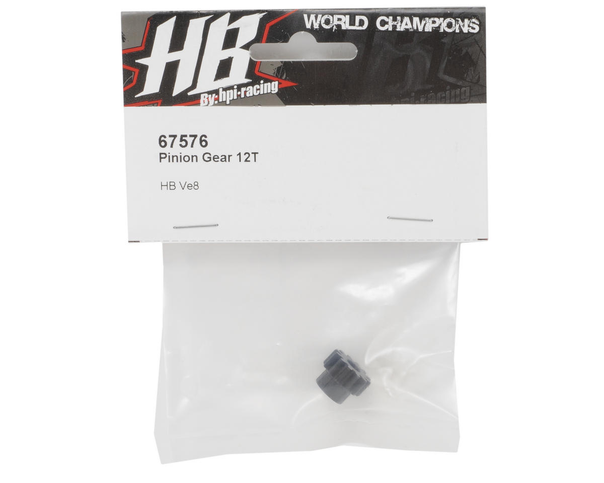 HB Racing Pinion Gear (12T)