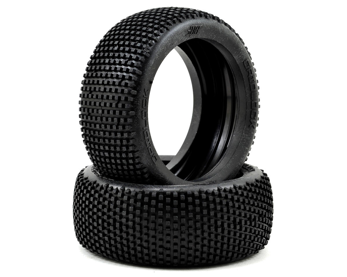 Gridlock 1/8 Buggy Tire (2) (Pink) by HB Racing