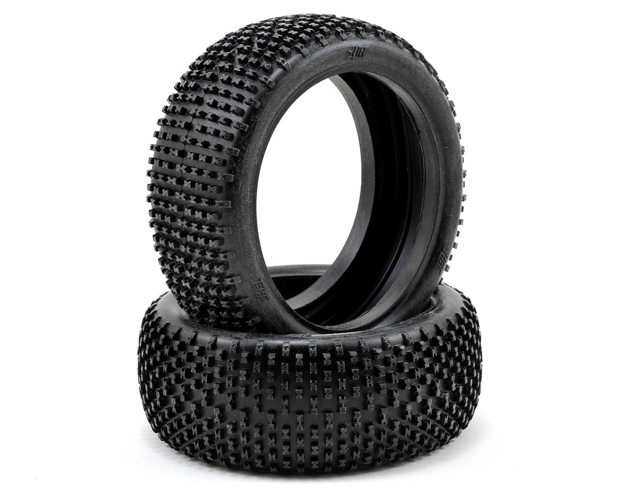 HB Racing Khaos 1/8 Buggy Tire (2) (Red)