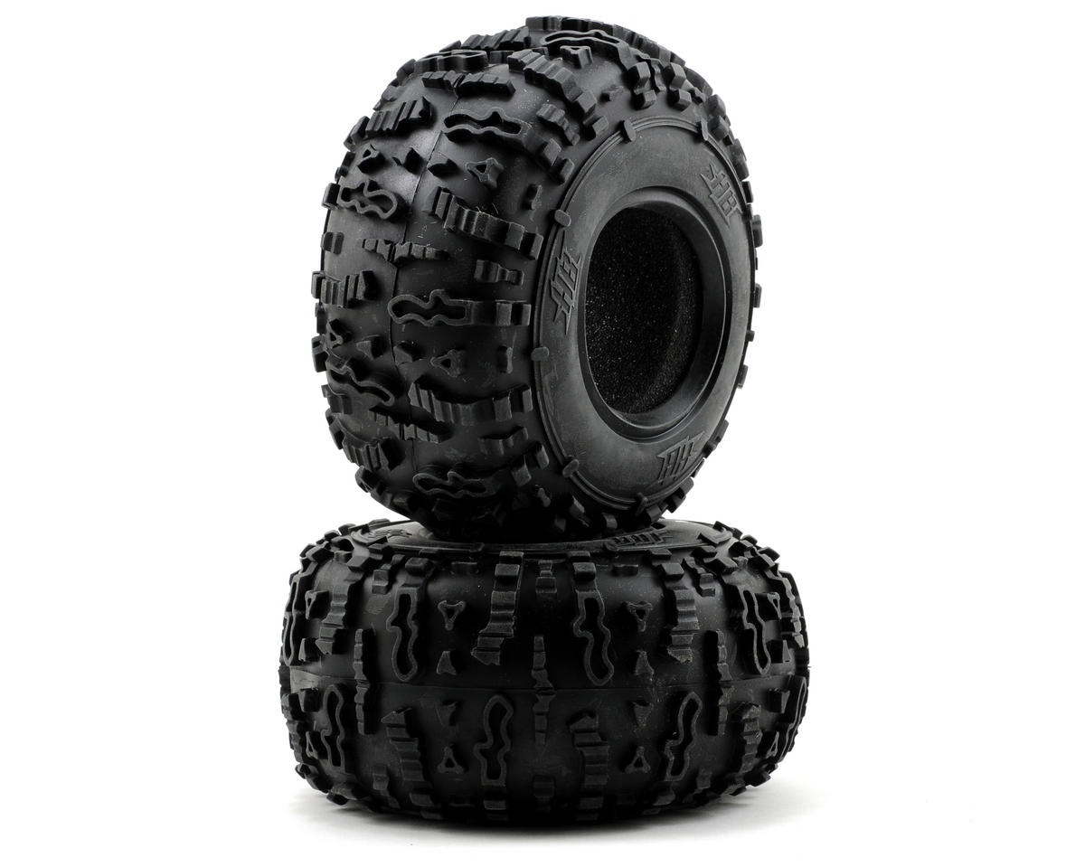"HB Racing Rover 2.2"" Rock Crawler Tires (2) (Blue)"