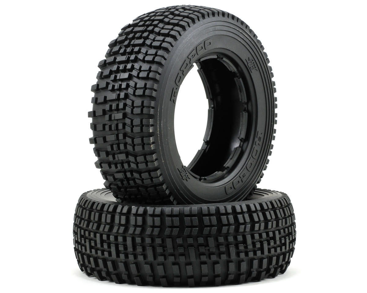 HB Racing Rodeoo Front Tire (No Foam) (2) (HPI Baja 5T)