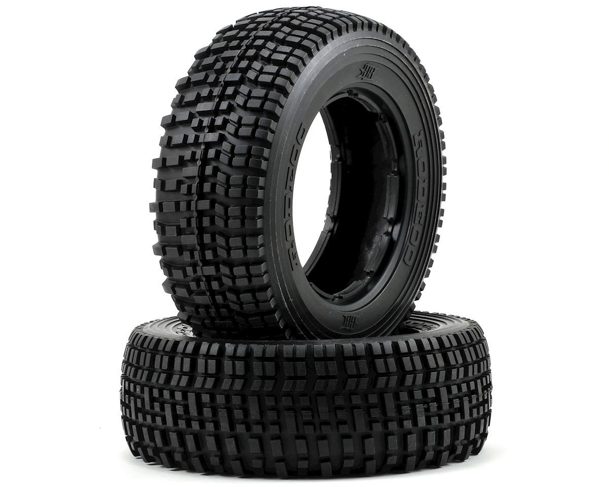 HB Racing Rodeoo Front Tire (No Foam) (2) (Blue)