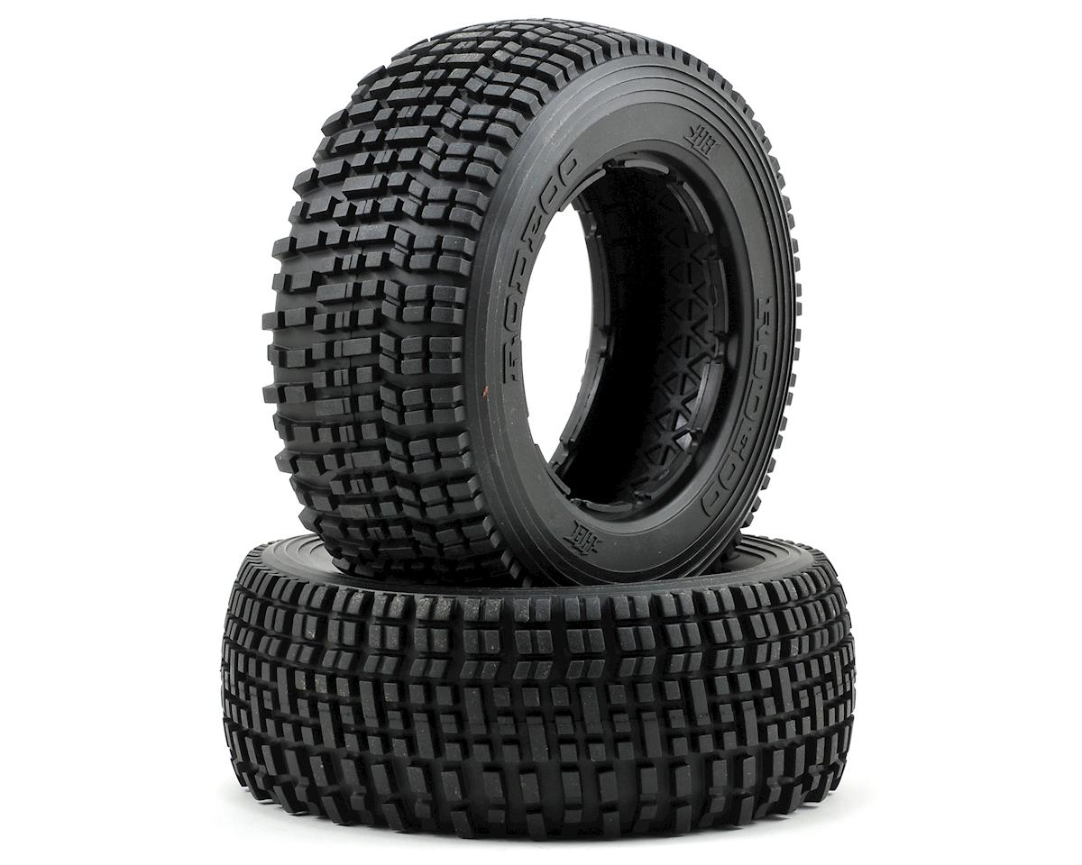 HB Racing Rodeoo Rear Tire (No Foam) (2)