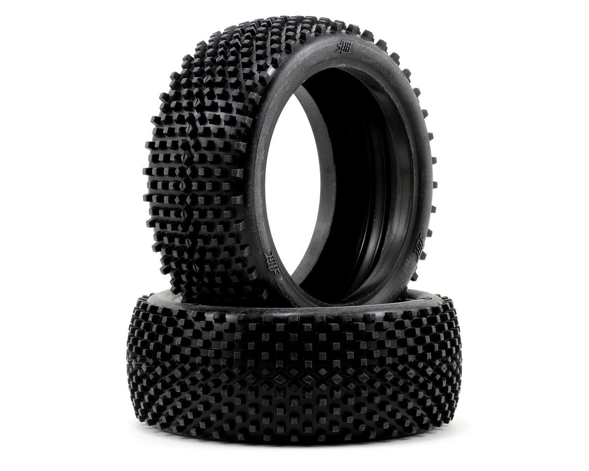 HB Racing Block 1/8 Buggy Tire (2) (Pink)