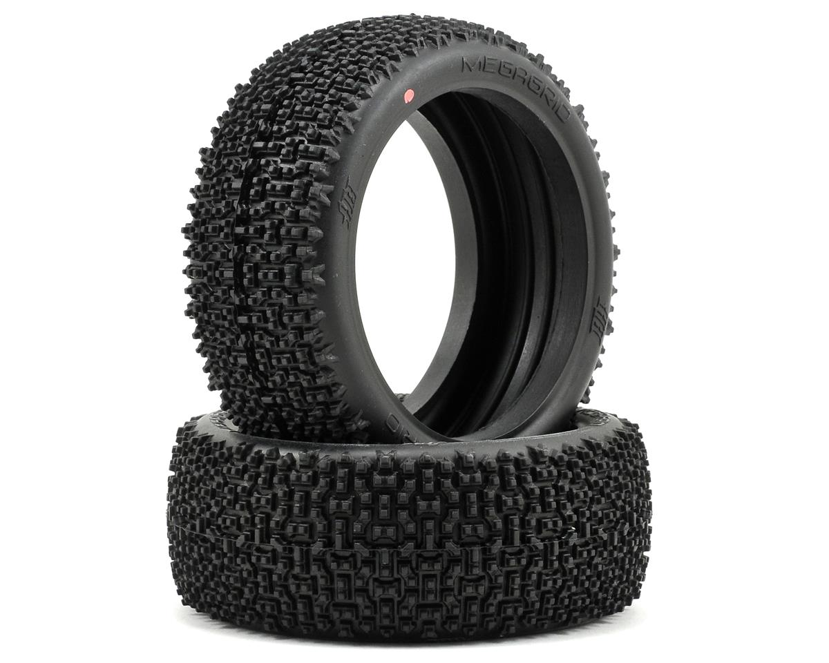 Megagrid 1/8 Buggy Tire (2) (Pink) by HB Racing