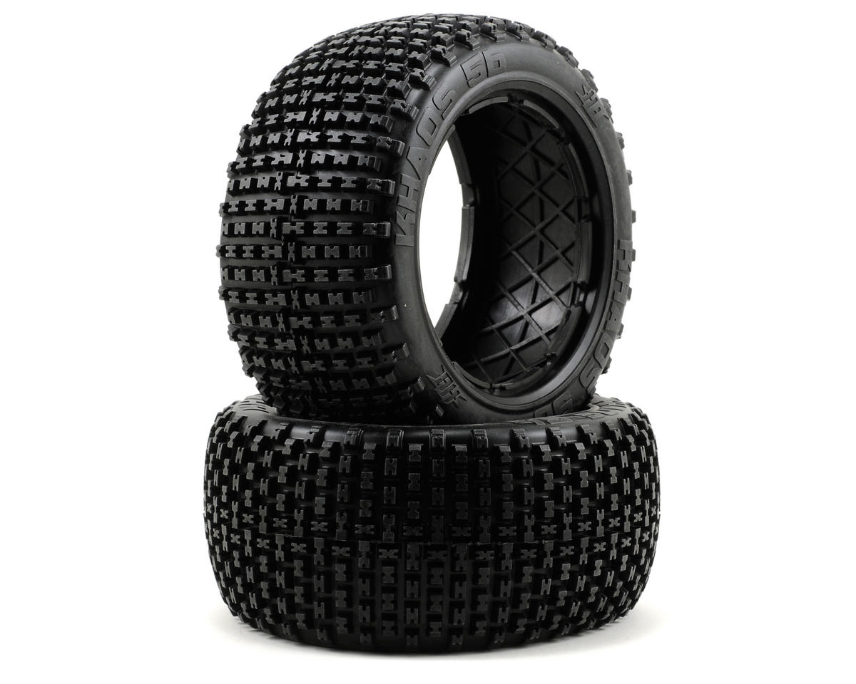 HB Racing Khaos Rear Tire (No Foam) (2) (HPI Baja 5B)
