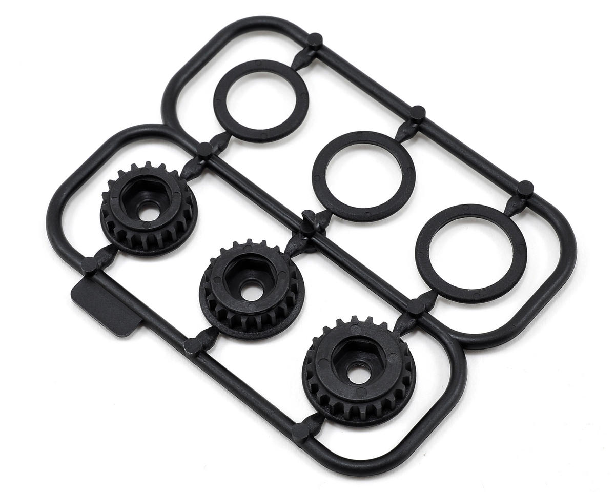 Center Pulley Set (18T/19T/20T) by HB Racing
