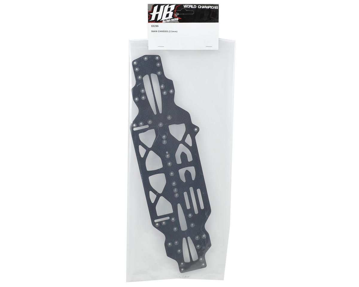 HB Racing 2.5mm Main Chassis