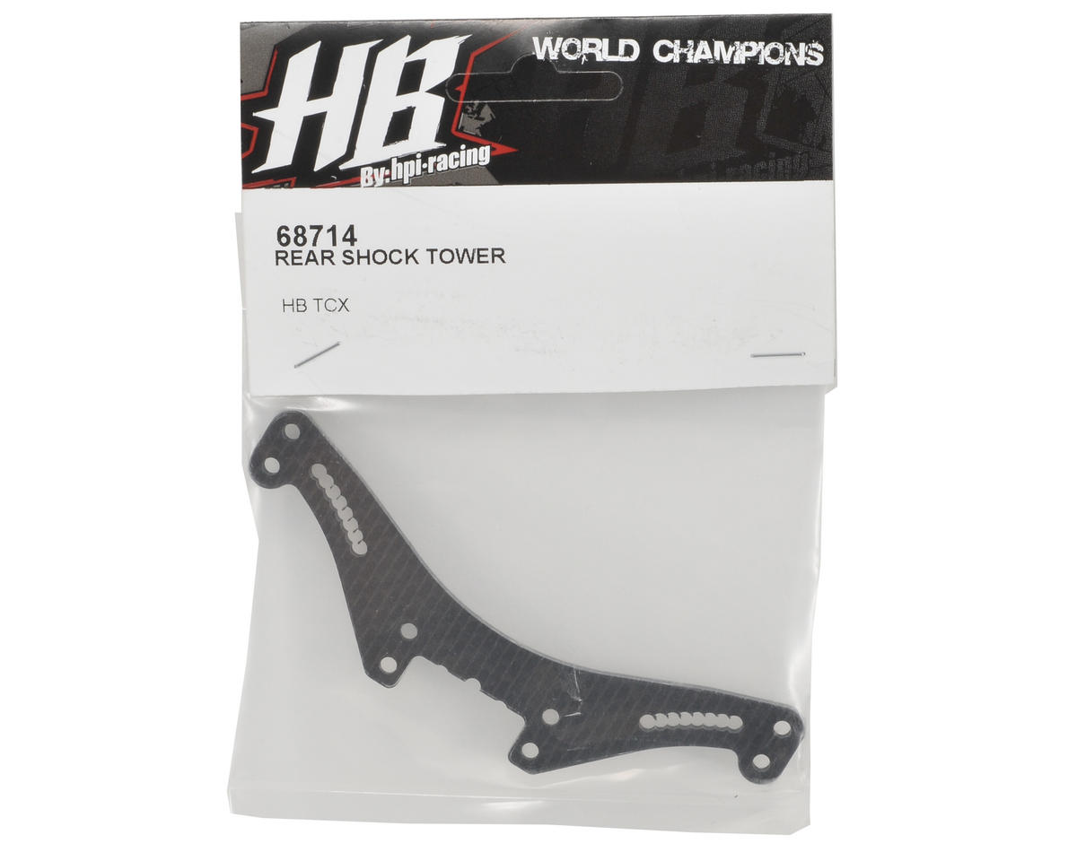 HB Racing Carbon Fiber Rear Shock Tower