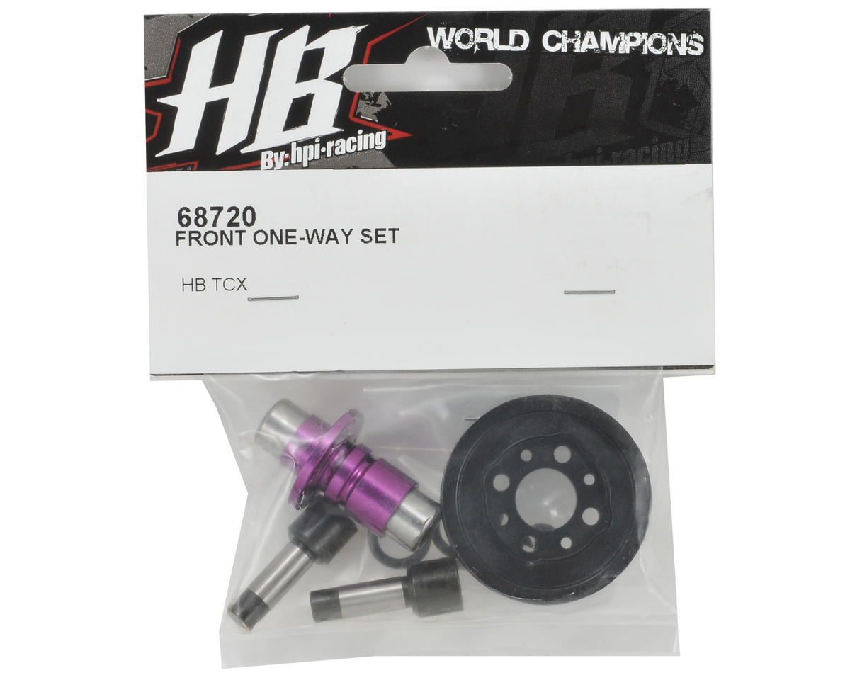 HB Racing Front One-Way Set