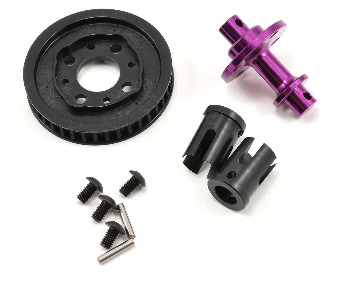 HB Racing Solid Axle Set