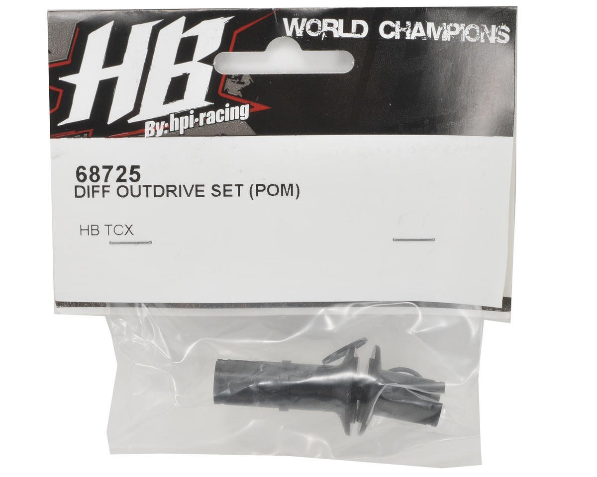 HB Racing Differential Outdrive Set (POM)