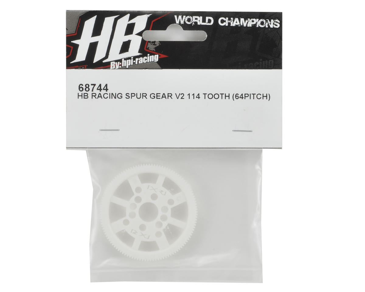 HB Racing 64P V2 Spur Gear (114T)