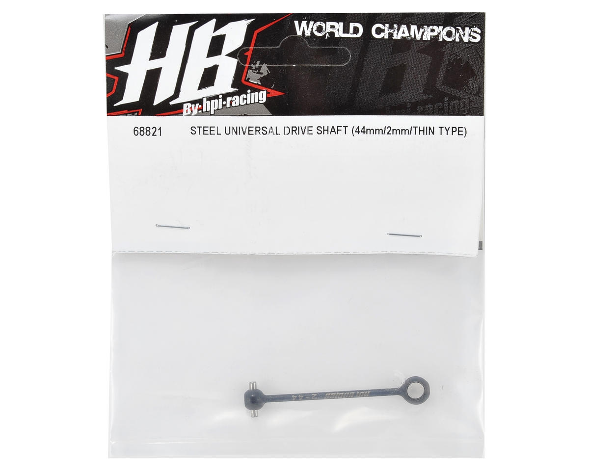 HB Racing 2x44mm Thin Type Steel Universal Drive Shaft