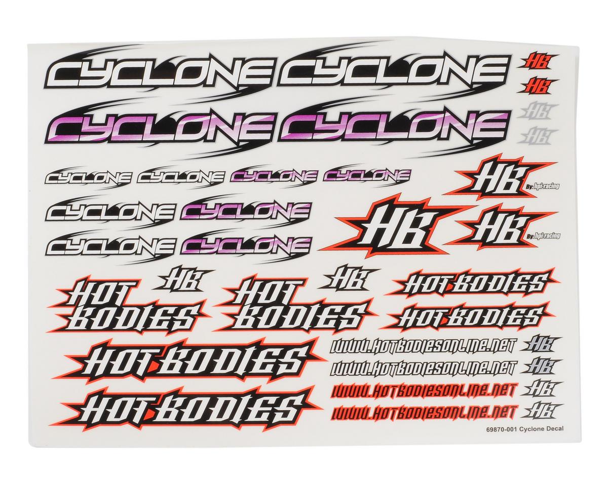 HB Racing Cyclone Logo Decal