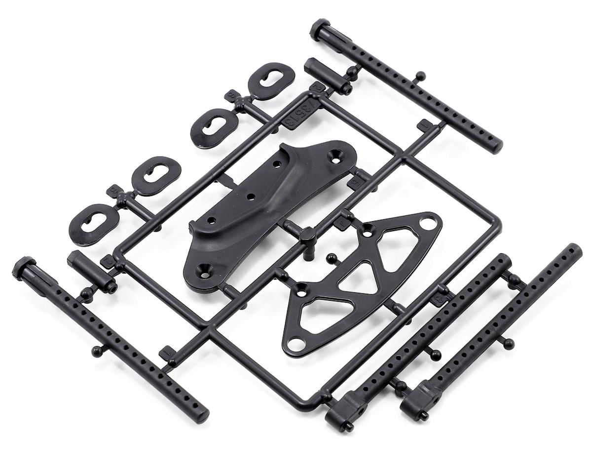 HB Racing TCXX Bumper/Body Post Set