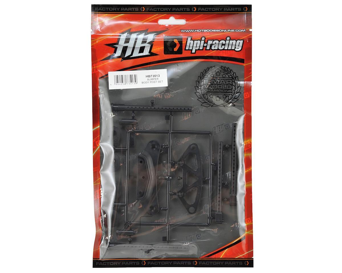 HB Racing Bumper/Body Post Set