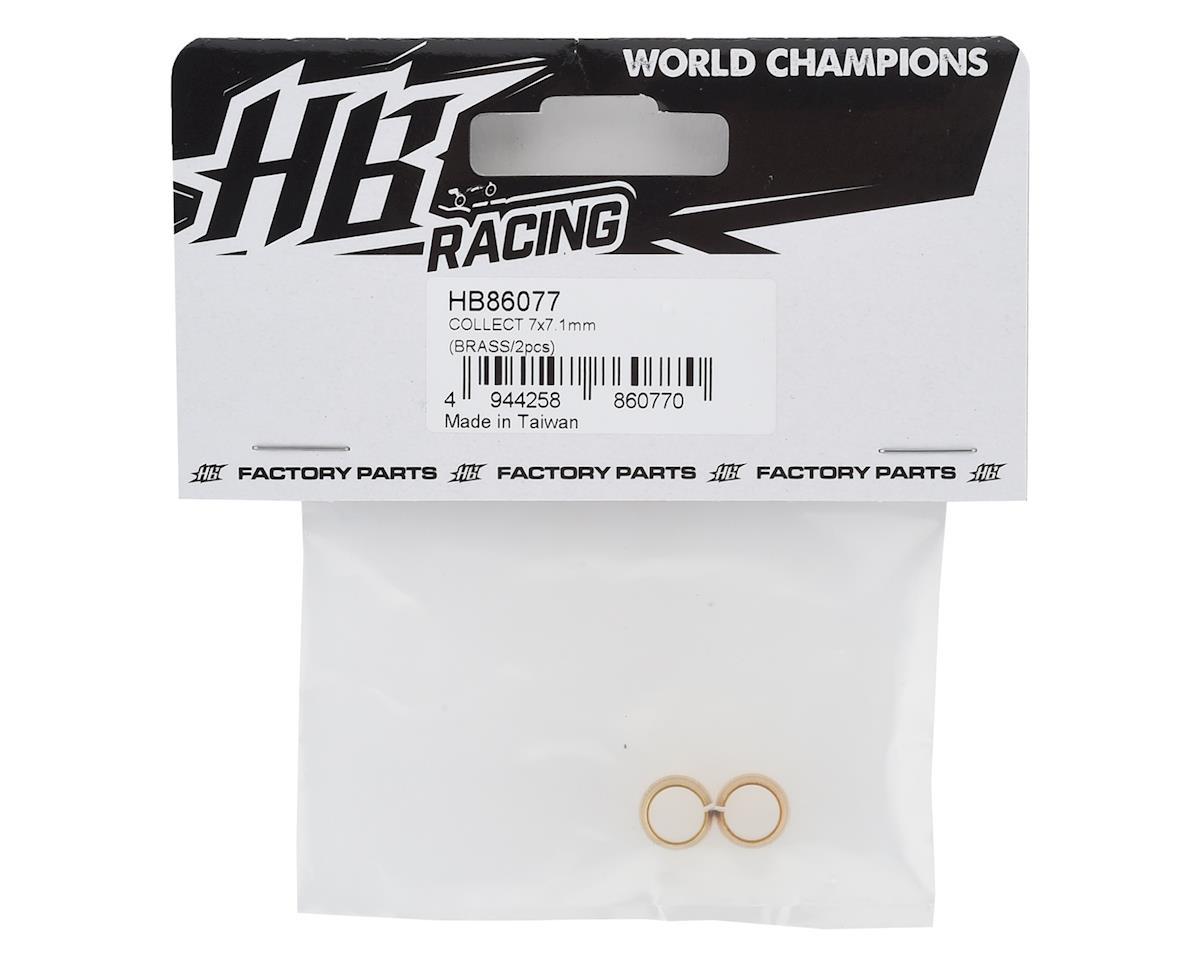 HB Racing 7x6.5mm Brass Flywheel Collet (2)