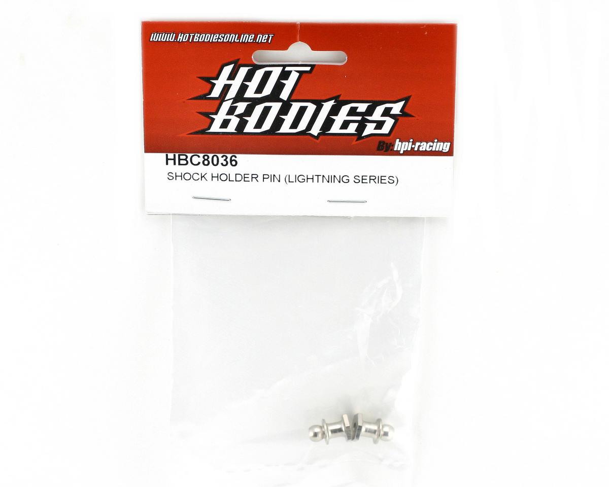 HB Racing Shock Tower Mounts (2), (Lightning Series)
