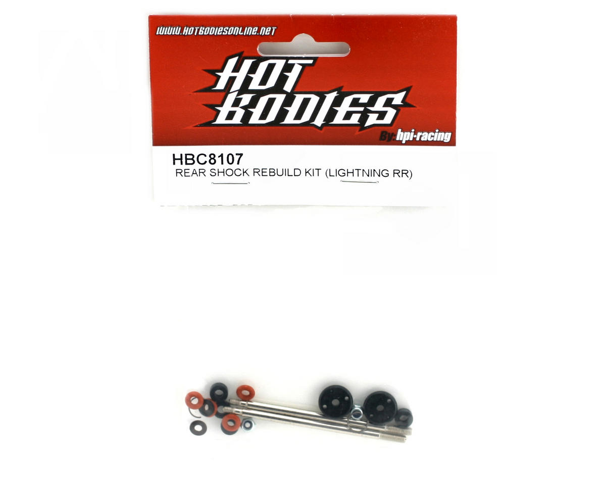 HB Racing Rear Shock Rebuild Kit (Lightning RR Series)