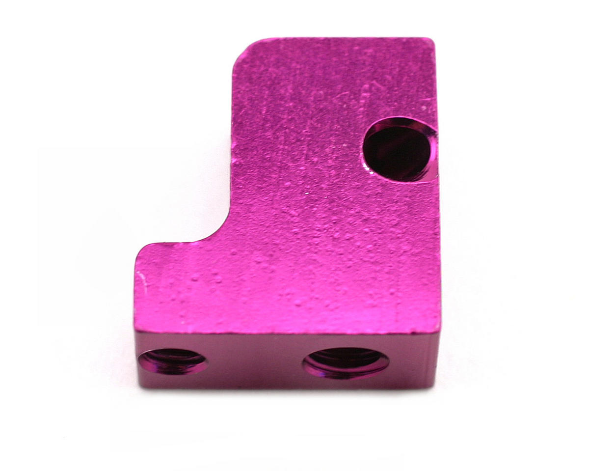 HB Racing CNC Tuned Pipe Mount (Purple)