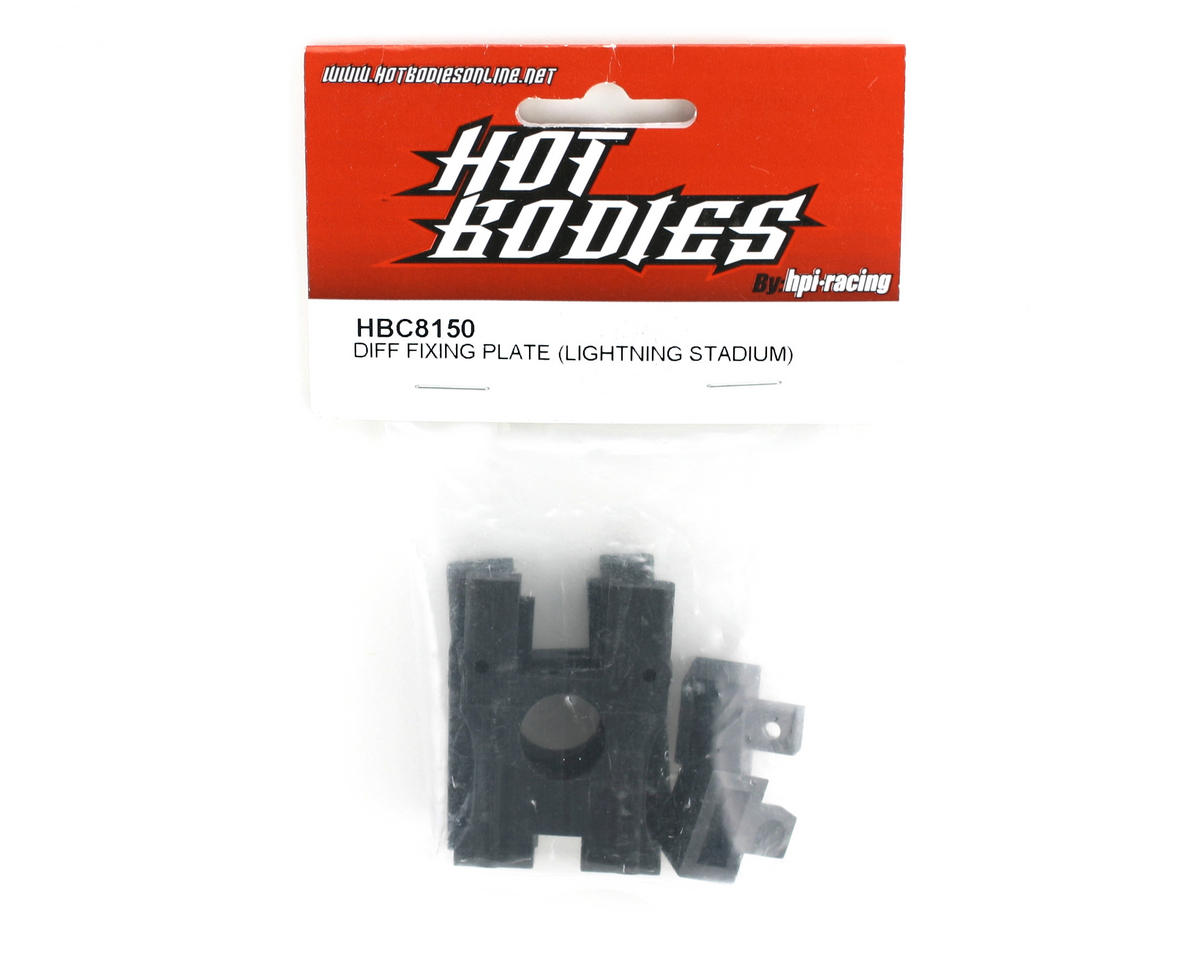 HB Racing Center Diff. Mount (Lightning Stadium Series)