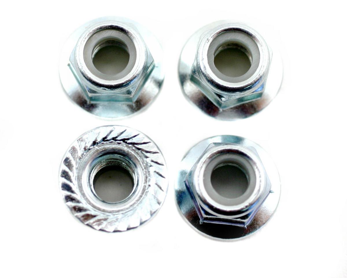 HB Racing Flanged 5mm Lock Wheel Nut (4) (Lightning Stadium)