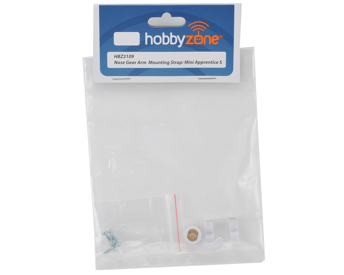 HobbyZone Mini Apprentice S Nose Gear Arm & Mounting Strap