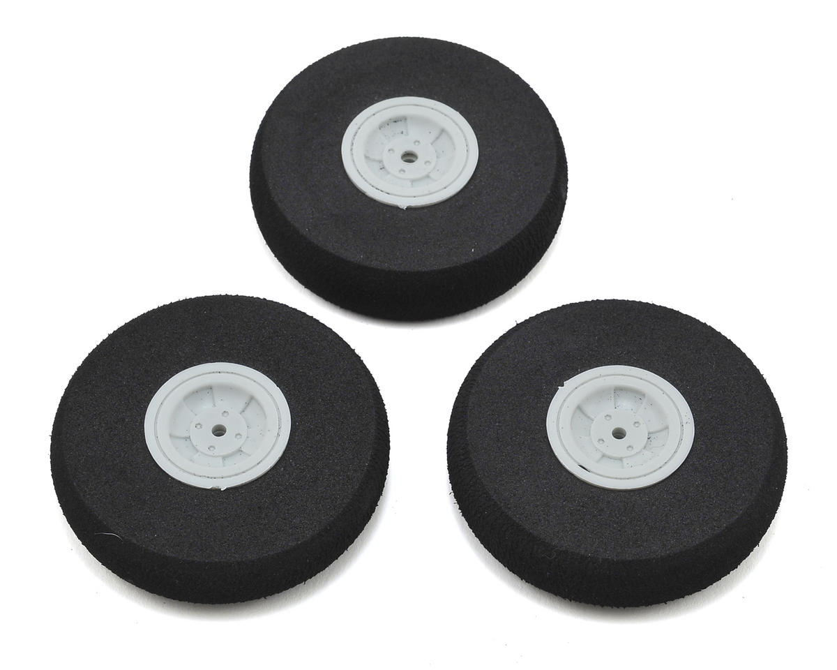 HobbyZone 58mm Mini Apprentice S Wheels (3)