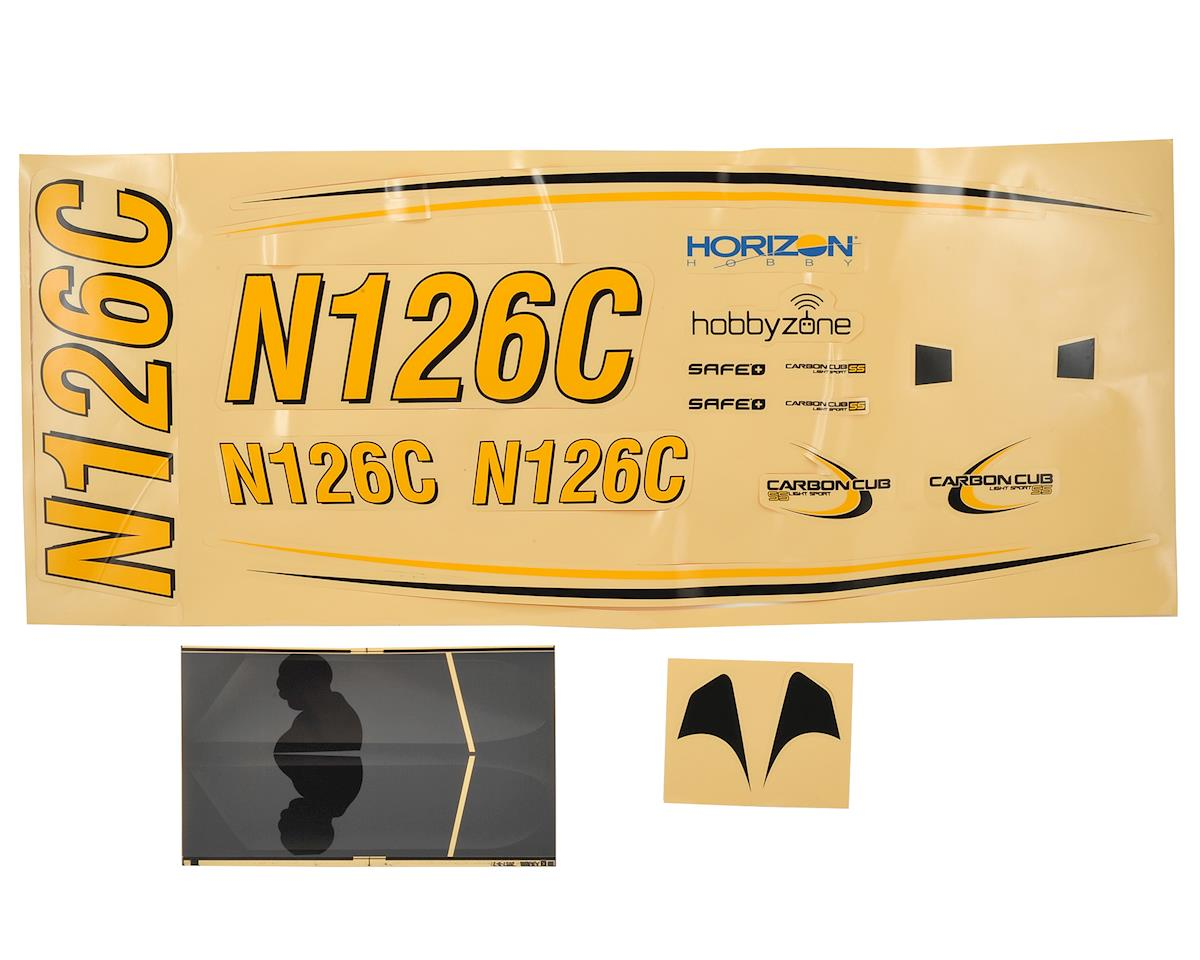 HobbyZone Cub S+ Decal Sheet