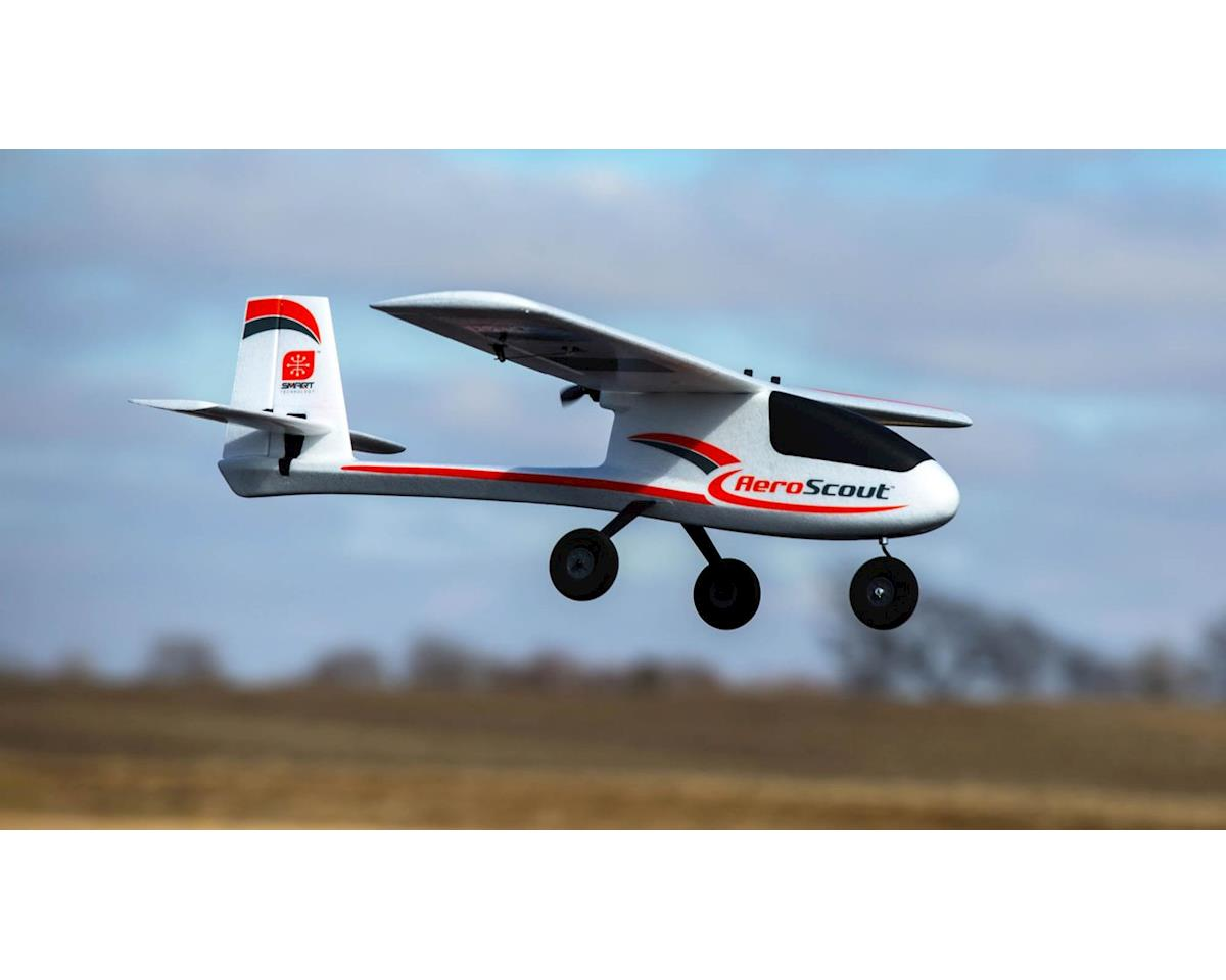HobbyZone AeroScout S 1.1m Basic BNF Electric Airplane (1095mm)