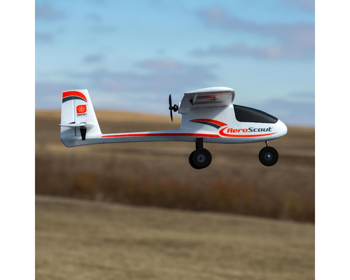 HobbyZone AeroScout S 1.1m Basic BNF Electric Airplane (1095mm)