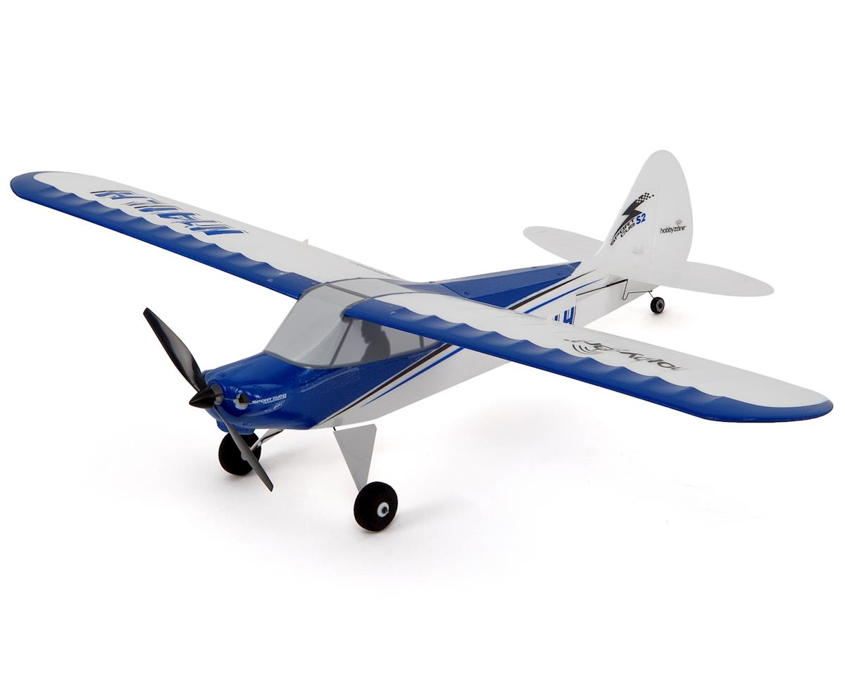 HobbyZone Sport Cub S BNF Electric Airplane w/SAFE, Ultra Micro FPV Camera & VTX
