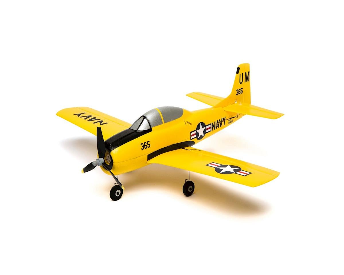 HobbyZone T-28 Trojan S RTF Electric Mini Airplane (426mm)