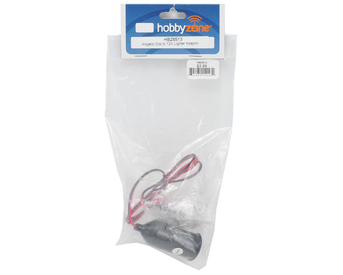 HobbyZone Alligator Clip to 12V Lighter Adapter