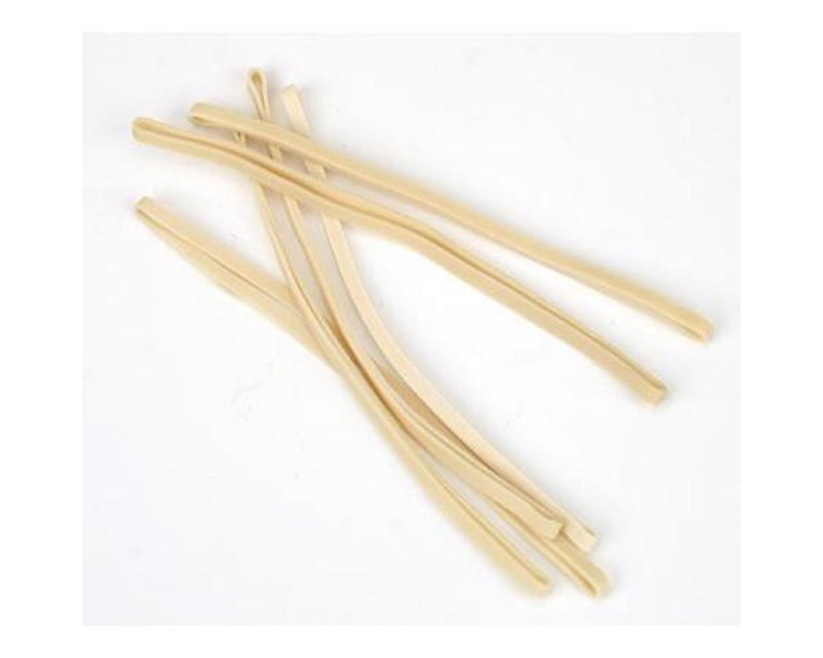 HobbyZone White Rubber Bands (6): CUB