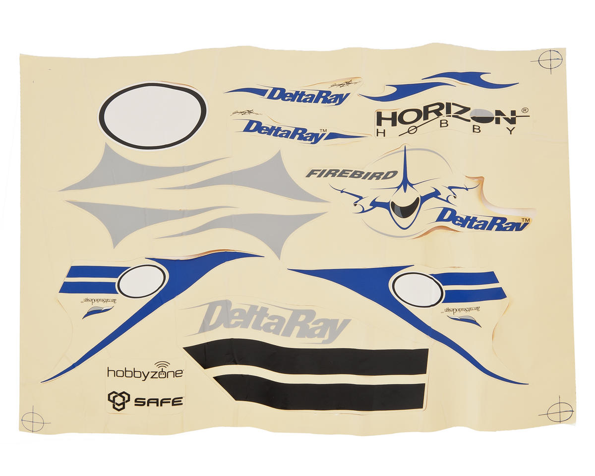 HobbyZone Delta Ray Decal Set